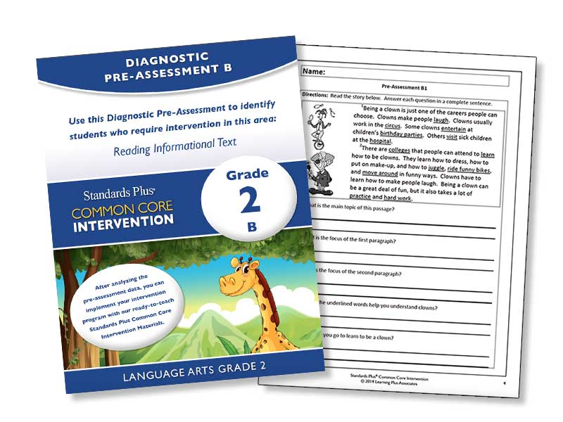 Free Diagnostic Pre Assessments